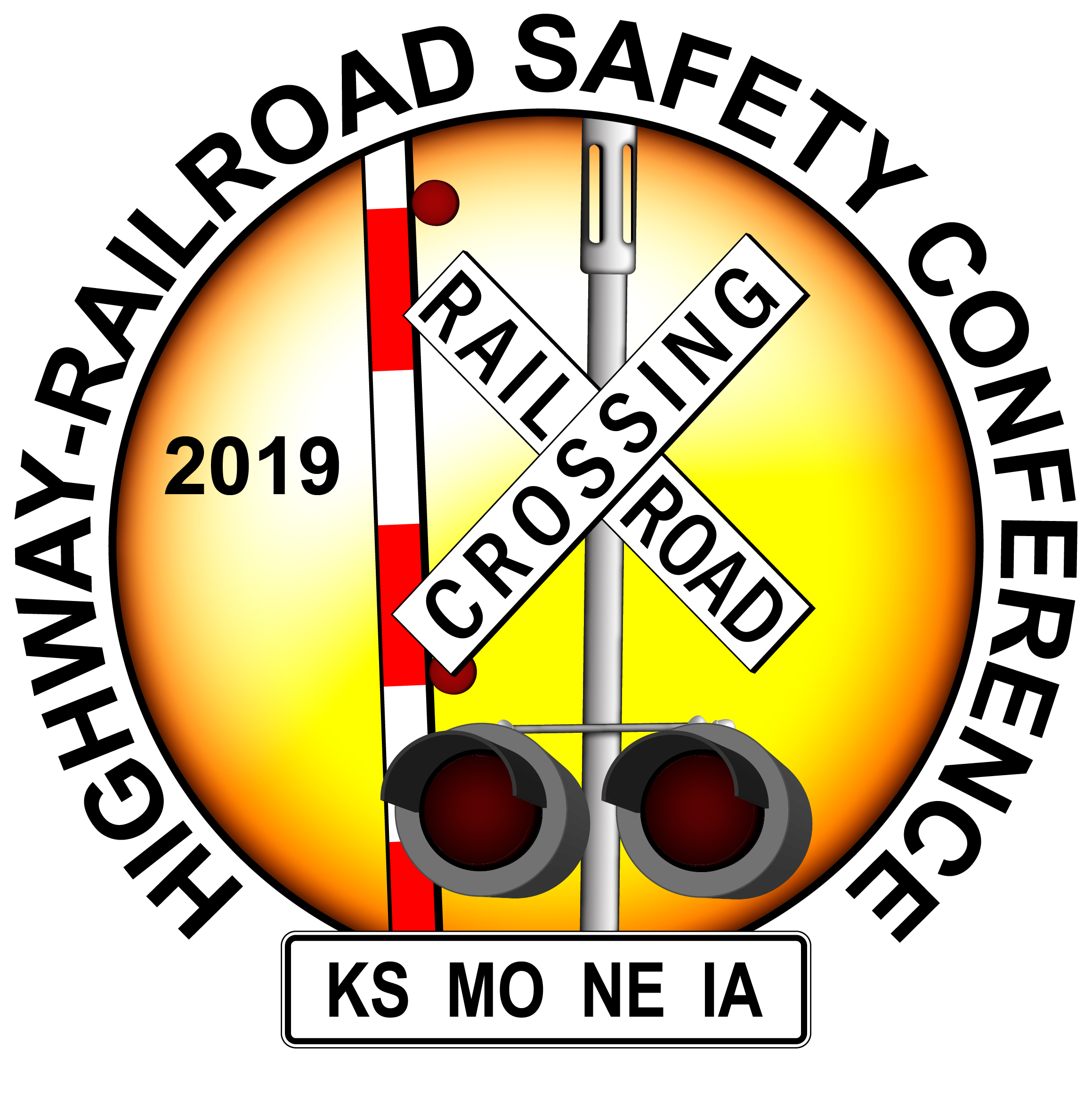 2019 KS/MO/NE/IA Highway-Rail Safety Conference Logo