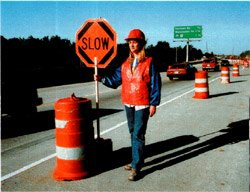 Slow Down, Watch for Workers and Equipment