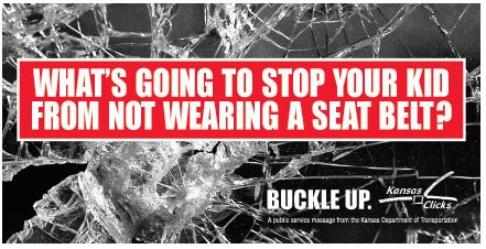 What's going to stop your kid from not wearing a seat belt?
