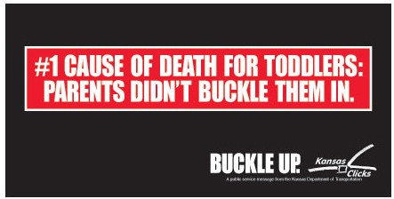 #1 cause of death for toddlers: Parents didn't buckle them in