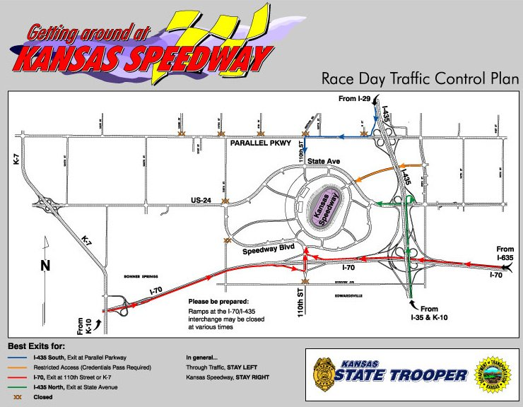 Race Day Traffic Control Plan