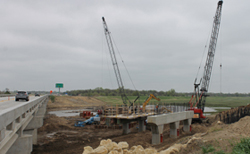 Bridge Construction over Big Ditch
