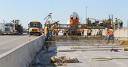 Bridge repairs on I-135