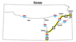 Kansas Map of KTA