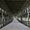 Pedestrian Walkway under the Lewis & Clark Viaduct