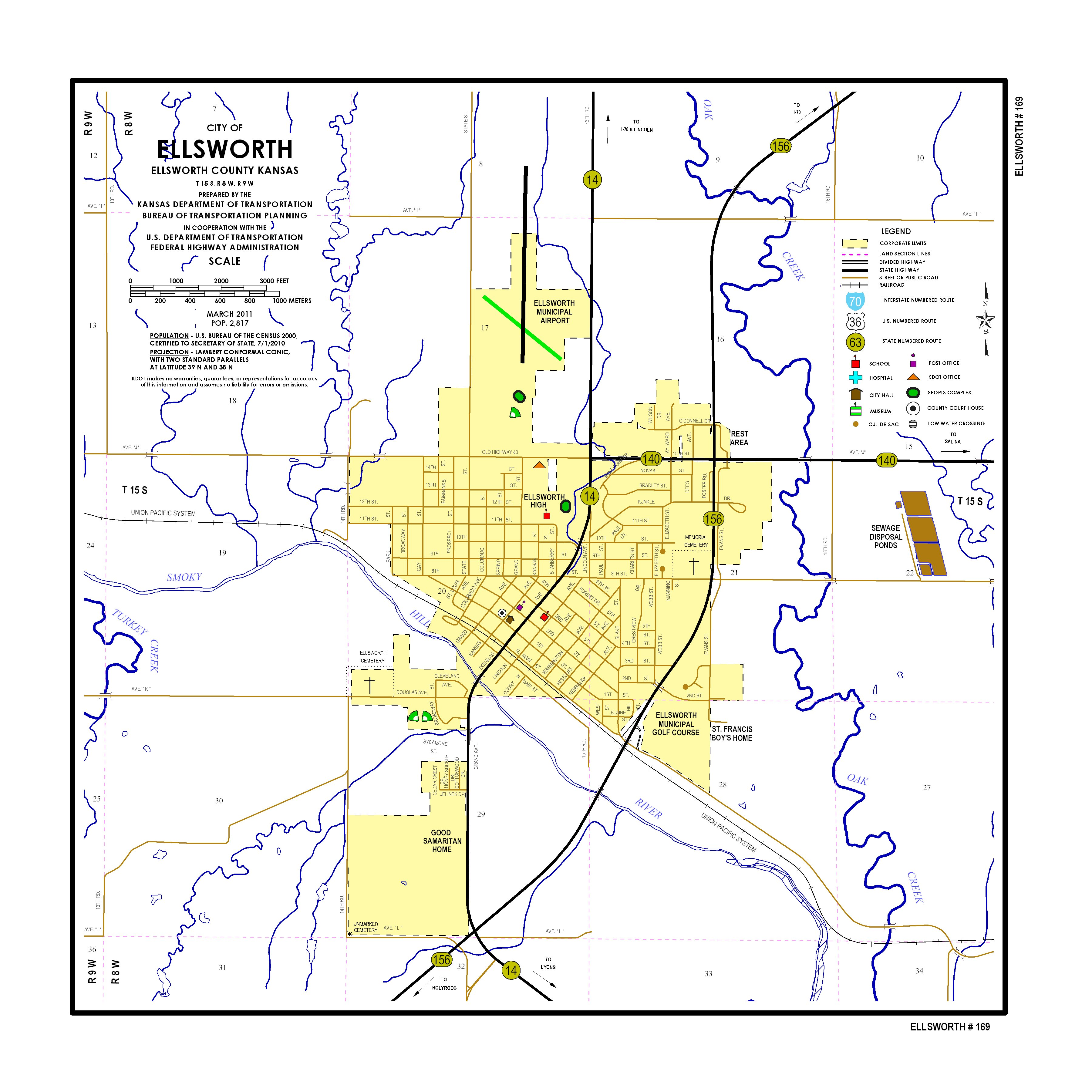 KDOT: City Maps - sorted by City Name on map of st joseph kansas, map of st george kansas, map of st peter kansas, map of st john kansas, map of st louis kansas,