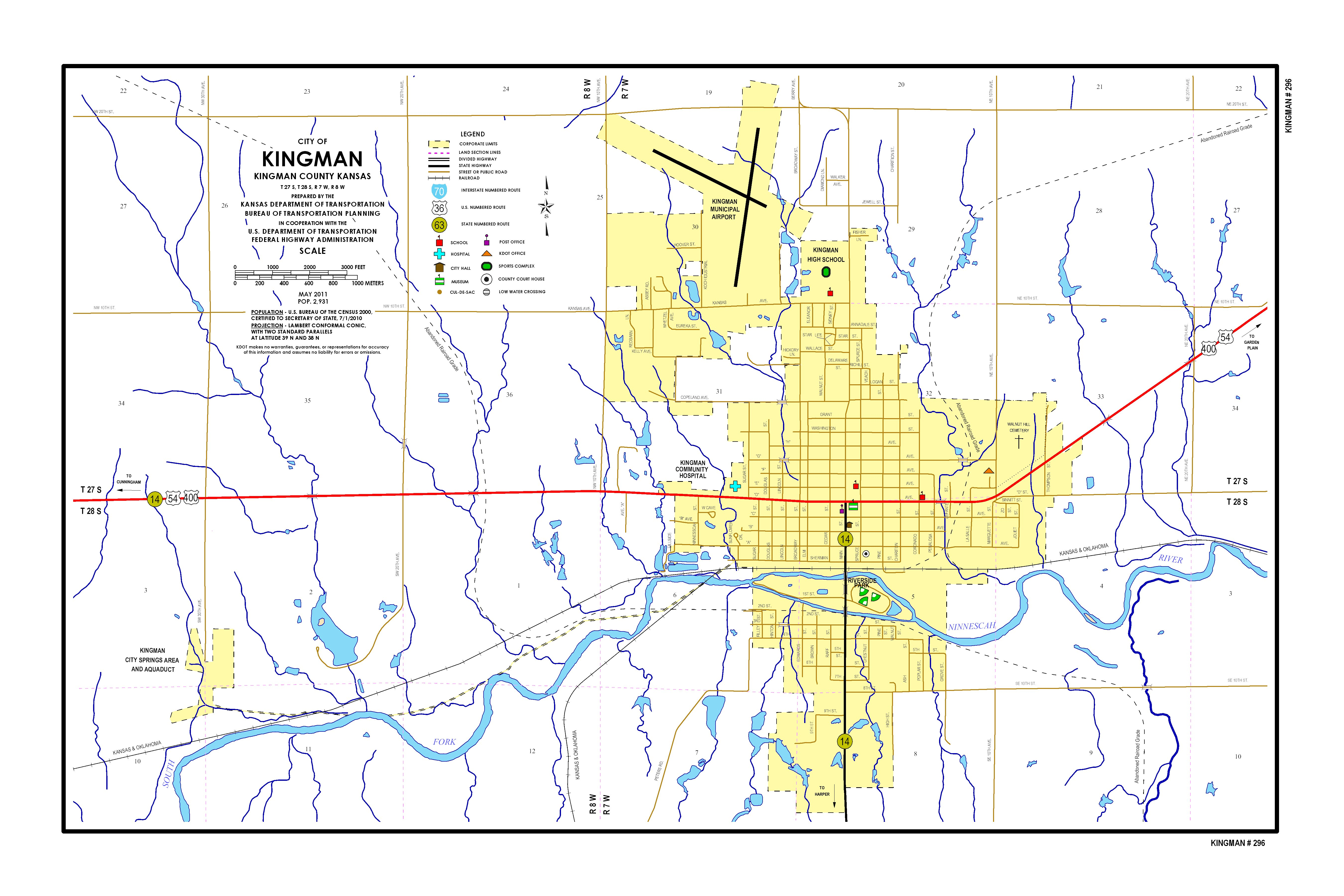 kansas speed limit map Kdot City Maps Sorted By City Name kansas speed limit map
