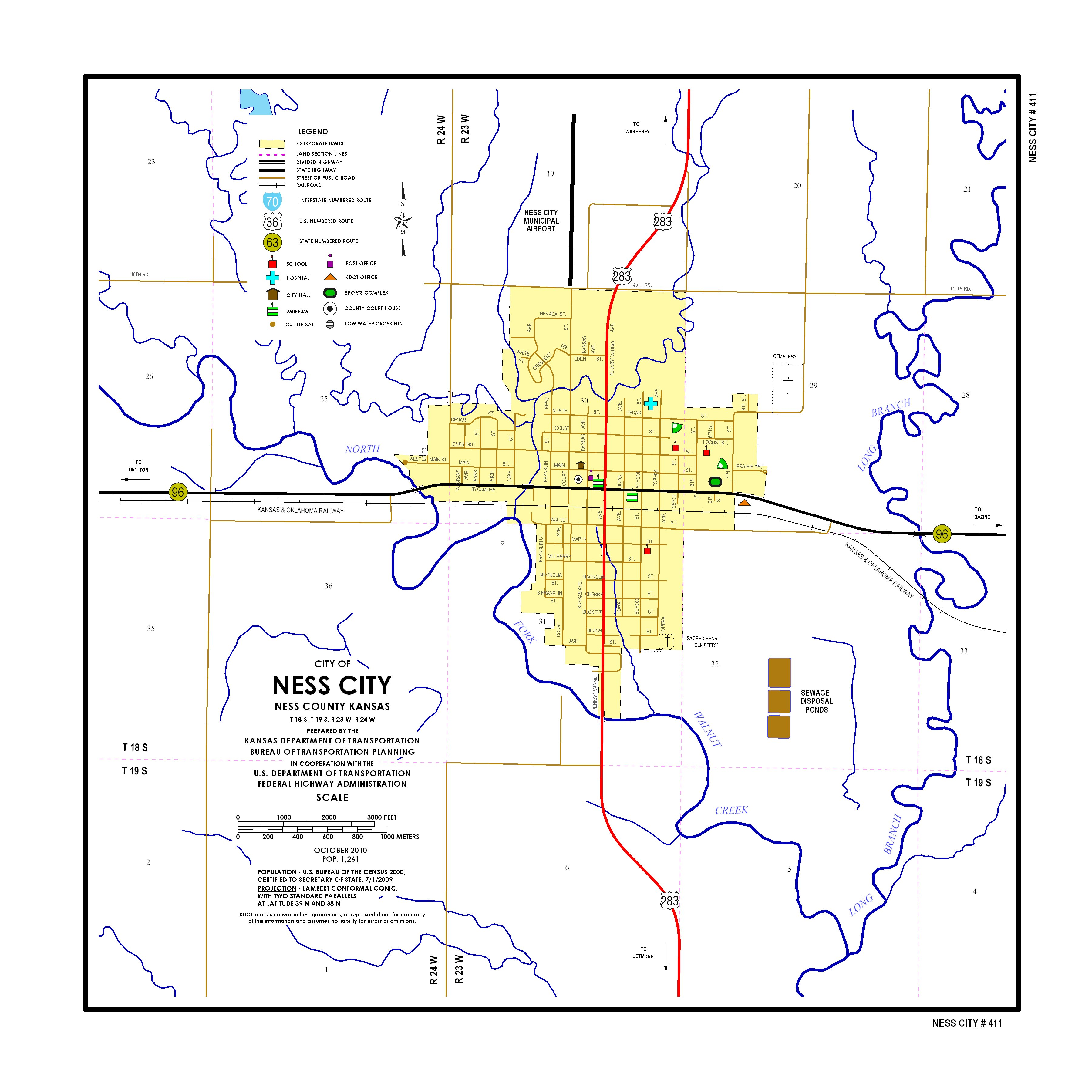 Junction City Kansas Map.Kdot City Maps Sorted By City Name