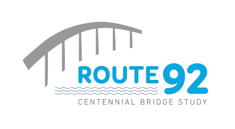 Route 92 Centennial Bridge Study Logo