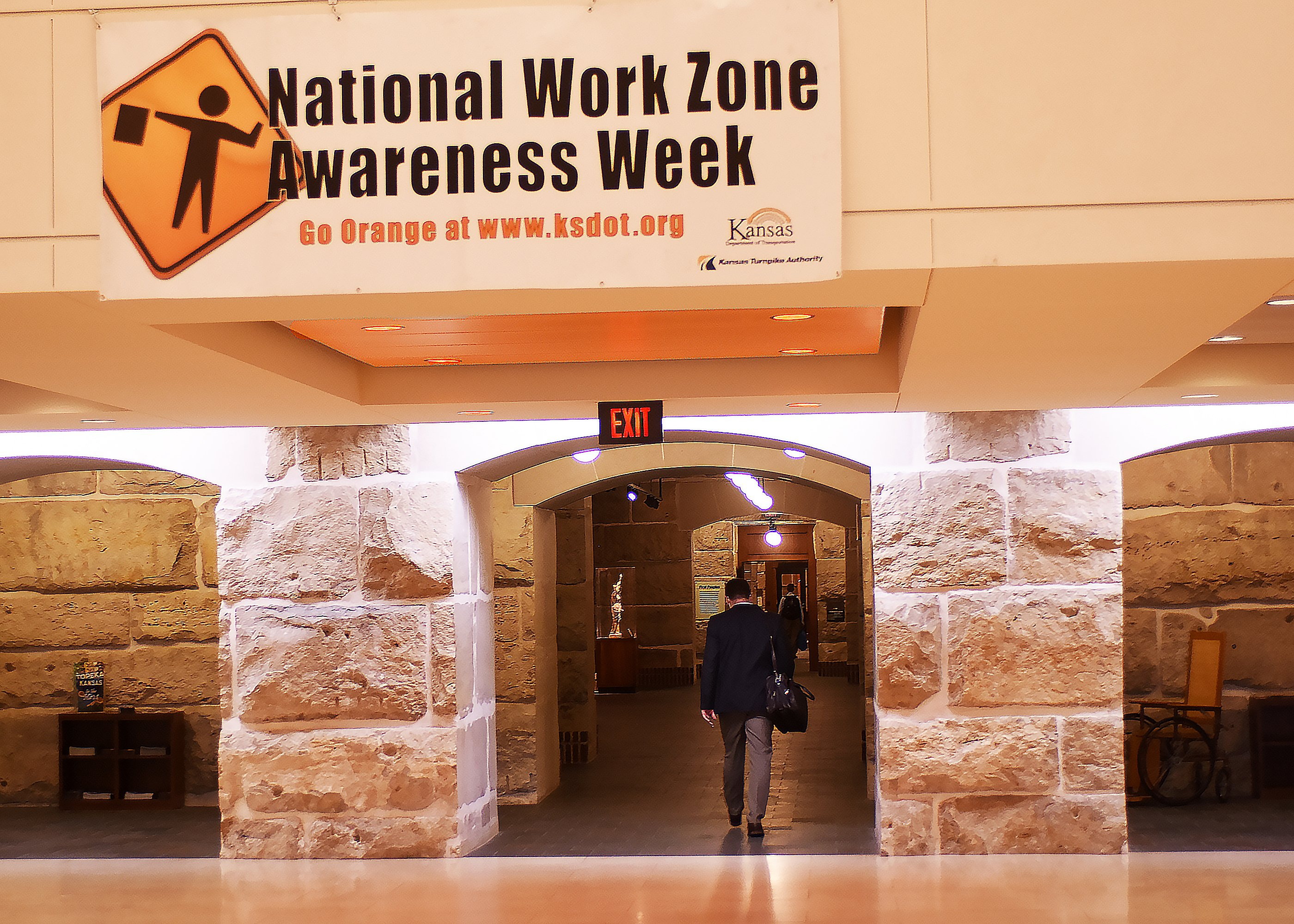 Work-zone Awareness Banner in Capitol
