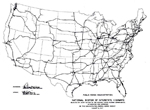 Nationa Interstate Map